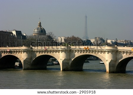 "The ""Pont Neuf"" bridge in Paris"