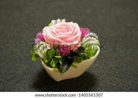 the preserved flower arrangements for interior #1405561307