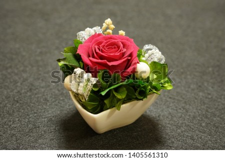 the preserved flower arrangements for interior #1405561310