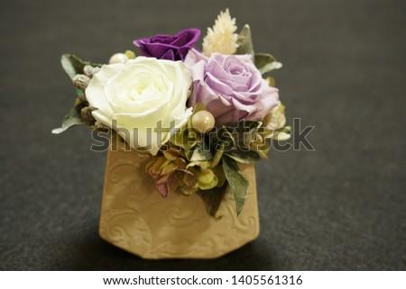 the preserved flower arrangements for interior #1405561316