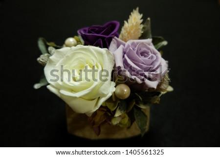 the preserved flower arrangements for interior #1405561325