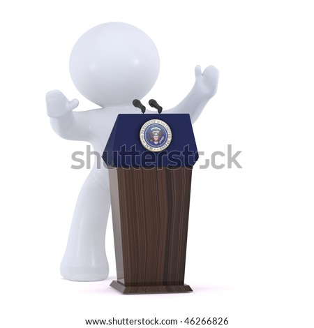 The President of the United States of America - stock photo
