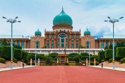 The Prime Minister Office at Putrajaya, Malaysia