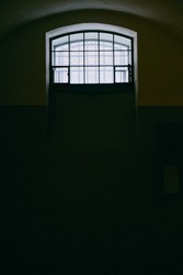 the prison door in the old prison museum