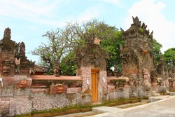 The Pura Dalem Sangsit temple, located in the north of the island east of Singaraja, is an underworld temple, Bali, Indonesia, Asia.