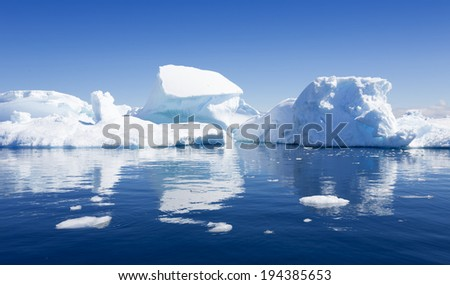 The purest waters of deep-water Antarctic fjords and crystal ice of subpolar areas Research of a phenomenon of global warming