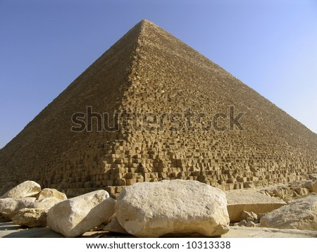Shutterstock The pyramids of Giza in Cario, Egypt