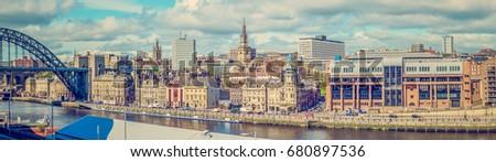 The Quayside, Newcastle Upon Tyne, North East England