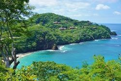 The quiet Playa Virador in Peninsula Papagayo in Guanacaste, Costa Rica