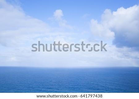 The quiet sea #641797438