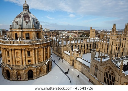 The Radcliffe Camera and All Souls College 1438, Oxford