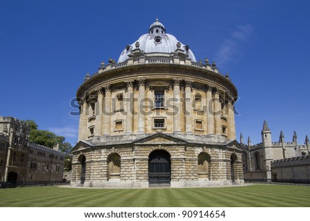 The Radcliffe Camera in Oxford, UK