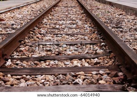 The railway track pattern