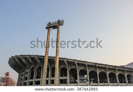 the rajamangala stadium,sport center