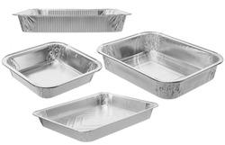 The rectangular shape of the foil for food/Aluminium utensils for baking/Set