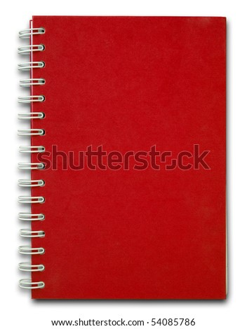 The red cove of Note book for use