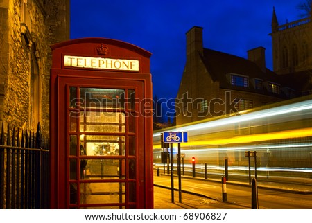 The Red Telephone Booth - United Kingdom