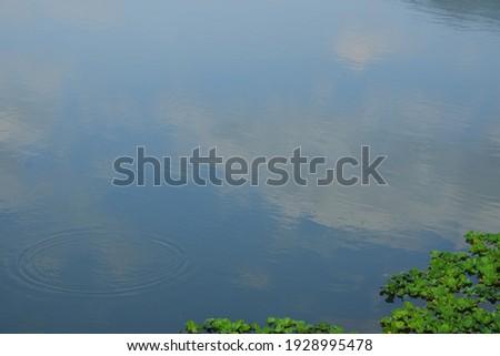 The Reflection of Sky in Dapo Pond (大坡池湖面倒影) ストックフォト ©