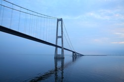 The Öresund or Øresund Bridge is a combined railway and motorway bridge across the Oresund strait between Sweden and Denmark.