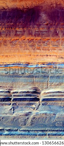 the rings of Saturn, tribute to Pollock, vertical abstract photography of the deserts of Africa from the air, aerial view, abstract expressionism, contemporary photographic art, abstract naturalism,