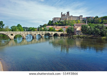 The River Orb at Beziers
