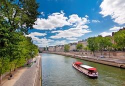 The river Seine,Paris, France