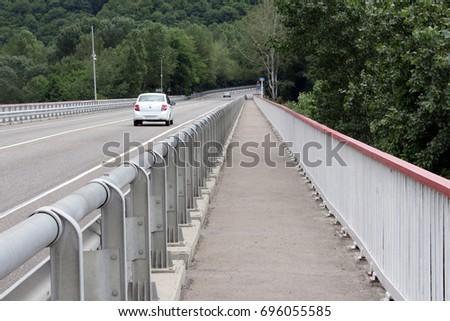 the road across the bridge #696055585