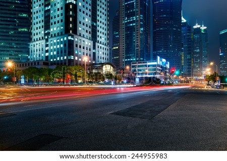 the road in the city #244955983