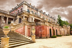 The Robillon wing of Queluz National Palace, in the municipality of Sintra, Lisbon district, Portugal