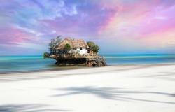 The rock at Zanzibar