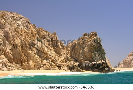 The rocks of Land's End near Cabo San Lucas / Mexico