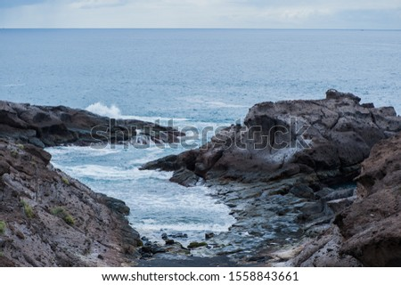 The rocky coastline of Tenerife #1558843661
