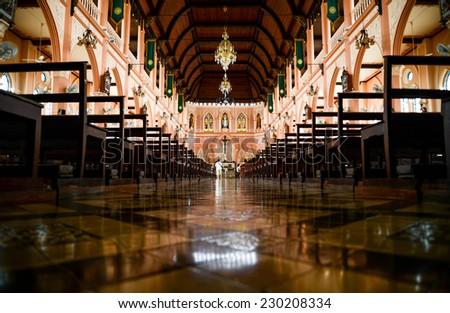 The Roman Catholic Church, Chanthaburi Province, Thailand.