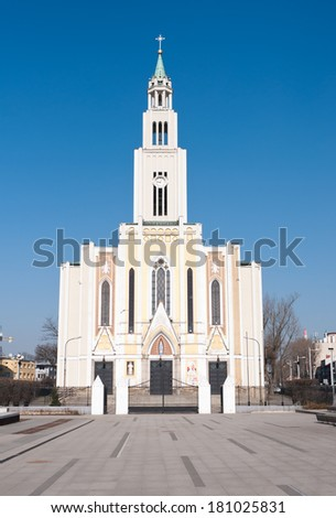 The Roman Catholic Church of Parish Of the purest Heart of Mary in Warsaw - \