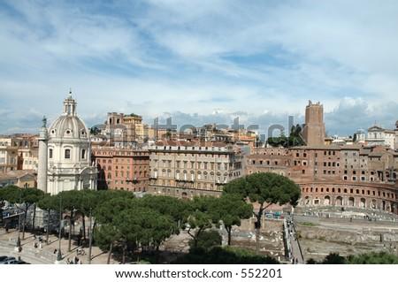 The Roman Forum Rome Italy