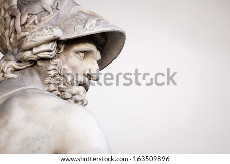 The Roman sculpture of Menelaus supporting the body of Patroclus