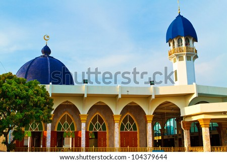 The Roof Mosque, Bangkok, Thailand