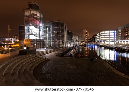 The Royal Armouries, Clarence Dock in Leeds