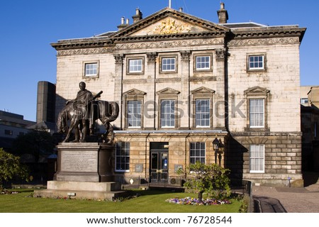 The Royal Bank of Scotland headquarters  in Edinburgh also known as Dundas House. This impressive mansion was built in 1774 to house the Scottish statesman Sir Lawrence Dundas.