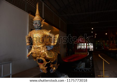 The royal barge is maintained in Royal Barges Museum in Bangkok. The royal barges are reserved for auspicious ceremonies and state occasions only.
