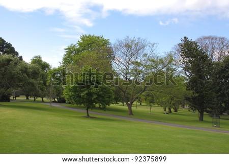The Royal Botanic Gardens in Sydney, Australia