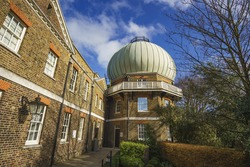 The Royal Observatory, Greenwich (known as the Royal Greenwich Observatory or RGO) is an observatory situated on a hill in Greenwich Park, overlooking the River Thames. London, United Kingdom.