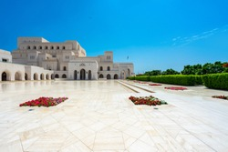 The Royal Opera House Muscat, Oman. Rohm, culture. Destination of tourist
