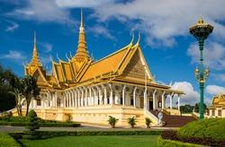 The royal palace in Cambodias capital Phnom Penh