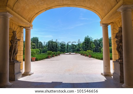 The Royal Palace of Colorno. Emilia-Romagna. Italy.