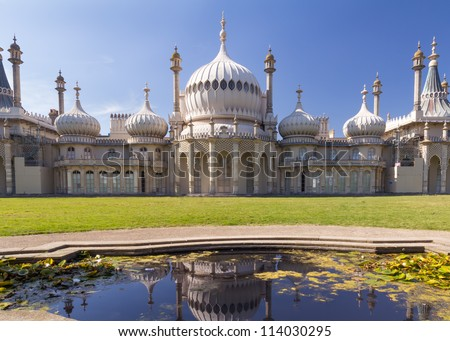 Shutterstock The Royal Pavilion a former Royal residence located in Brighton, England East Sussex
