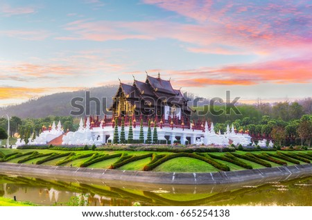 the royal pavilion  ho kham...