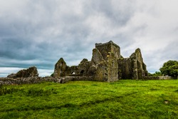 The ruins of the Hore Abbey, Tipperary, Eire