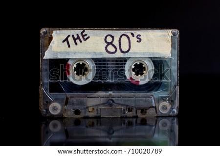 The 80's. Eighties mixed tape. Stock photo ©