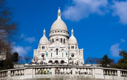 The Sacre Ceure cathedral in Paris
